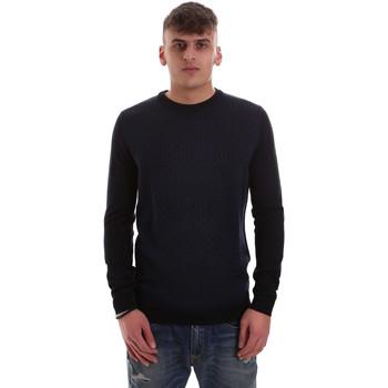 Kleidung Herren Pullover Antony Morato MMSW01000 YA400006 Blau