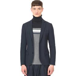Kleidung Herren Jacken / Blazers Antony Morato MMJA00407 FA100130 Blau