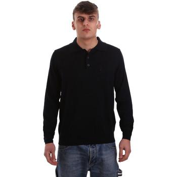 Kleidung Herren Langärmelige Polohemden Navigare NV11006 40 Blau