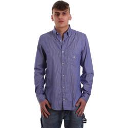 Kleidung Herren Langärmelige Hemden Navigare NV91068 BD Blau