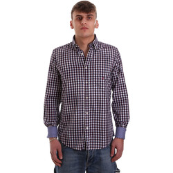 Kleidung Herren Langärmelige Hemden Navigare NV91074 BD Rot