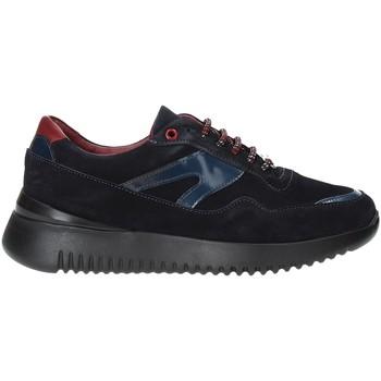 Schuhe Herren Sneaker Low Exton 335 Blau