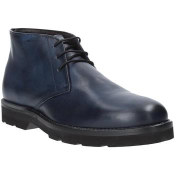 Schuhe Herren Boots Exton 44 Blau