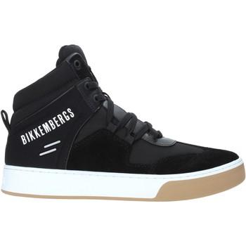 Schuhe Herren Sneaker High Bikkembergs B4BKM0038 Schwarz