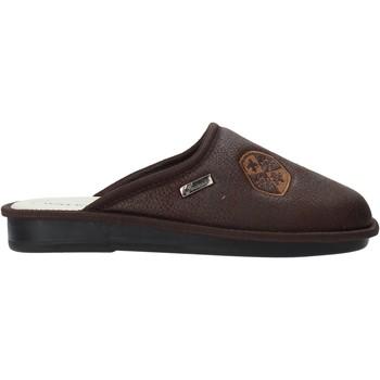 Schuhe Herren Hausschuhe Susimoda 5804 Braun