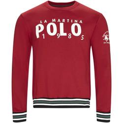 Kleidung Herren Sweatshirts La Martina OMF312 FP175 Rot