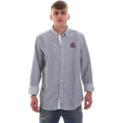 Kleidung Herren Langärmelige Hemden La Martina OMC021 PP472 Weiß