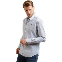 Kleidung Herren Langärmelige Hemden La Martina OMC016 PP462 Blau