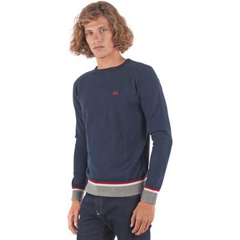 Kleidung Herren Pullover La Martina OMS021 YW025 Blau