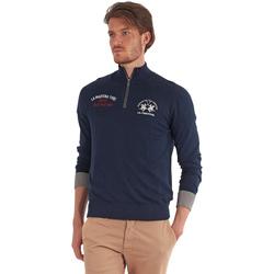 Kleidung Herren Pullover La Martina OMS317 YW025 Blau