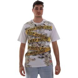 Kleidung Herren T-Shirts Sprayground SP017S Weiß