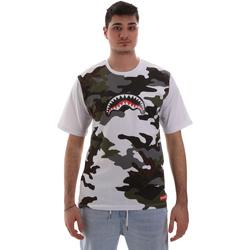 Kleidung Herren T-Shirts Sprayground SP023S Weiß