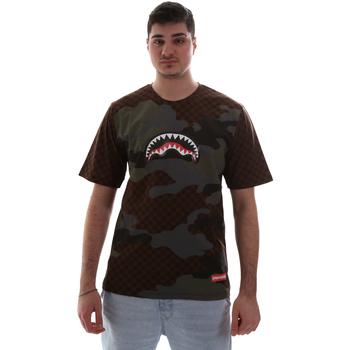 Kleidung Herren T-Shirts Sprayground SP018SBRO Braun