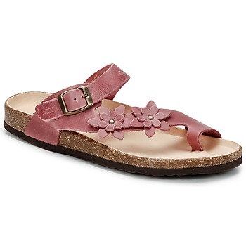 Schuhe Damen Zehensandalen Dream in Green MINIK Fuchsienrot