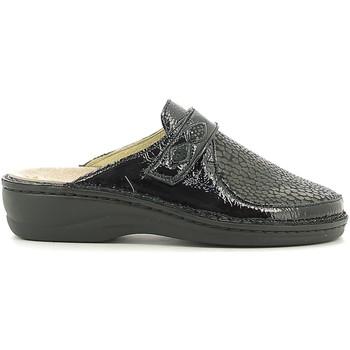 Schuhe Damen Hausschuhe Susimoda 6344 Schwarz