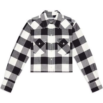 Kleidung Damen Hemden Calvin Klein Jeans J20J212123 Schwarz