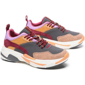 Pepe jeans PLS30912 Grau - Schuhe Sneaker Low Damen 4250