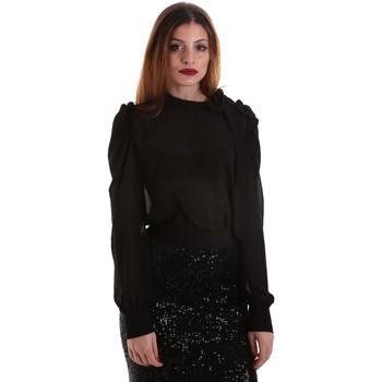 Kleidung Damen Tops / Blusen Denny Rose 921ND45001 Schwarz