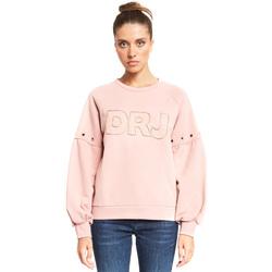 Kleidung Damen Sweatshirts Denny Rose 921ND64018 Rosa