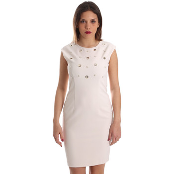 Kleidung Damen Kurze Kleider Gaudi 921FD15004 Beige