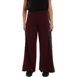 Kleidung Damen Jogginghosen Ea7 Emporio Armani 6GTP63 TJ31Z Rot