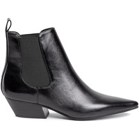 Schuhe Damen Low Boots Calvin Klein Jeans B4E6262 Schwarz