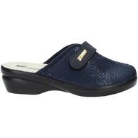 Schuhe Damen Hausschuhe Susimoda 6836 Blau