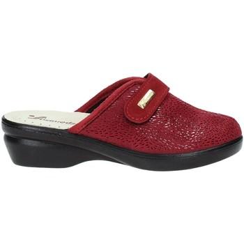Schuhe Damen Hausschuhe Susimoda 6836 Rot
