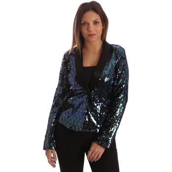 Kleidung Damen Jacken / Blazers Fracomina FR19FP622 Schwarz