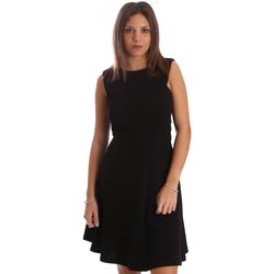Kleidung Damen Kurze Kleider Fracomina FR19FP085 Schwarz
