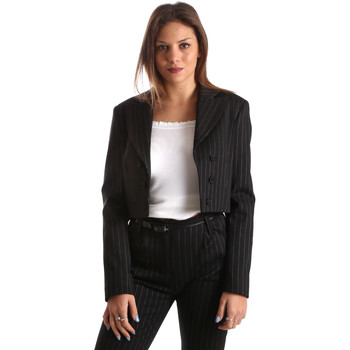 Kleidung Damen Jacken / Blazers Fracomina FR19FP066 Schwarz