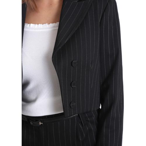 Fracomina FR19FP066 Schwarz - Kleidung Jacken / Blazers Damen 5495 sR9yD