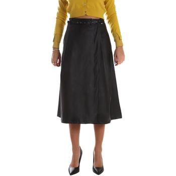 Kleidung Damen Röcke Fracomina FR19FM501 Schwarz