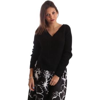 Kleidung Damen Pullover Fracomina FR19FM836 Schwarz