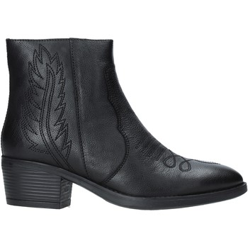 Schuhe Damen Low Boots Pregunta PF5794T Schwarz