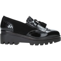 Schuhe Damen Slip on Grace Shoes 1935 Schwarz