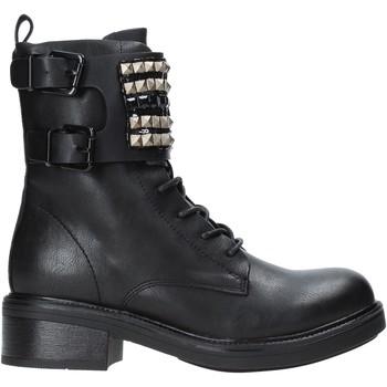 Schuhe Damen Low Boots Gold&gold B19 GA77 Schwarz