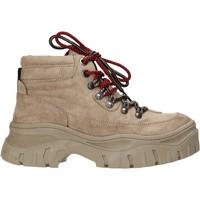 Schuhe Damen Low Boots Gold&gold B19 GR53 Beige