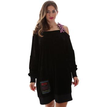 Kleidung Damen Kurze Kleider Versace B6HUB77011684899 Schwarz