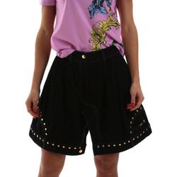 Kleidung Damen Röcke Versace A9HUB301APD3W899 Schwarz