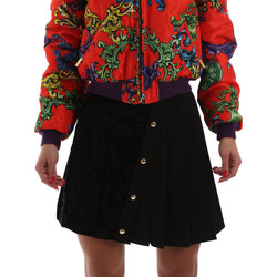Kleidung Damen Röcke Versace A9HUB30505487899 Schwarz