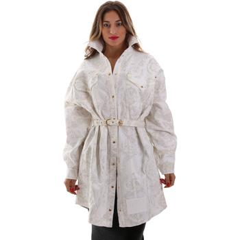 Kleidung Damen Jacken Versace D2HUB445HRC43003 Weiß