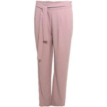 Kleidung Damen Fließende Hosen/ Haremshosen Smash S1829415 Rosa