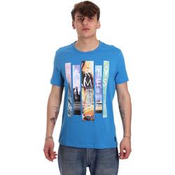 Kleidung Herren T-Shirts Gaudi 011BU64028 Blau