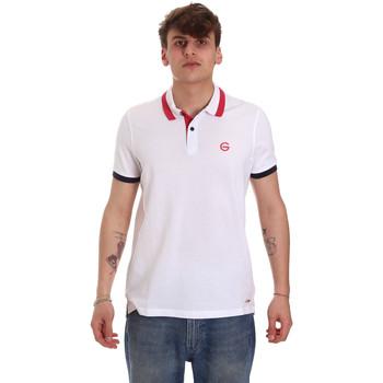 Kleidung Herren Polohemden Gaudi 011BU64043 Weiß