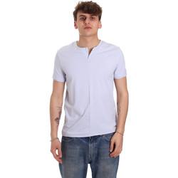 Kleidung Herren T-Shirts Gaudi 011BU64094 Violett