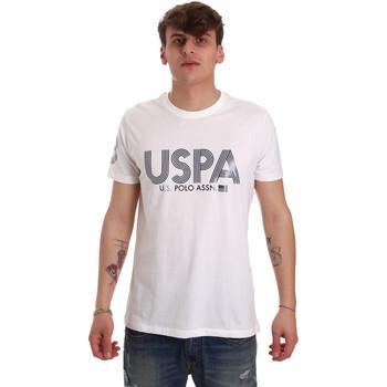 Kleidung Herren T-Shirts U.S Polo Assn. 57197 49351 Weiß