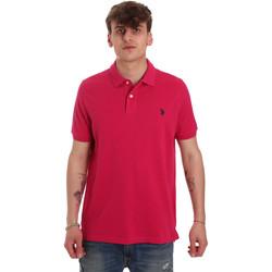 Kleidung Herren Polohemden U.S Polo Assn. 55957 41029 Rosa