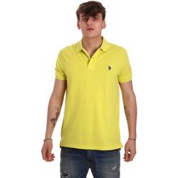 Kleidung Herren Polohemden U.S Polo Assn. 55957 41029 Gelb