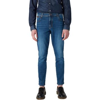 Kleidung Herren Slim Fit Jeans Wrangler W12ST112E Blau